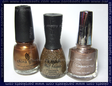 China Glaze, Nubar, Catrice