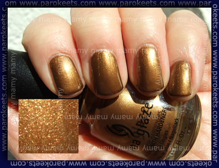 China Glaze - Platinum Gold