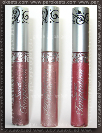 Essence Sweet Temptation - Devil's Favour, Mademoiselle, Tool Of Attraction glos