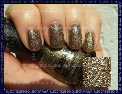 Nubar - G 109 Brown/Gold Glitter