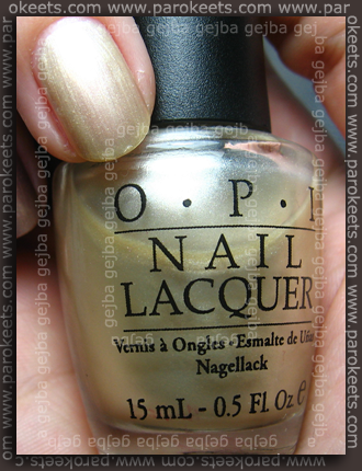 OPI - I Only Drink Champagne