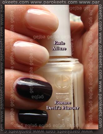 Essie Allure, Essence Devil's Flavour