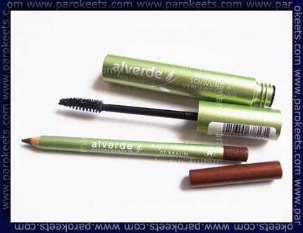 Alverde_Natur Kosmetik_Mascara_Kajal Eyeliner