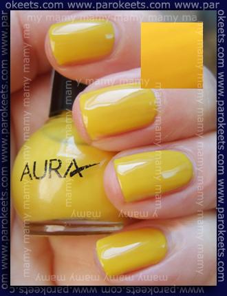 Aura, mini št.09, trije sloji