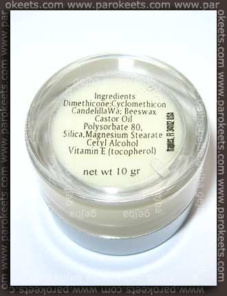 Coastal Scents - Eye-Poxy ingredients