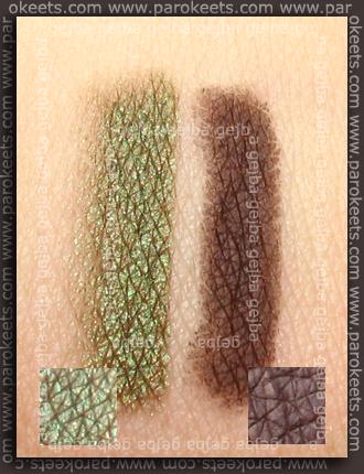 L:Golden Moss;d: Truly Brown