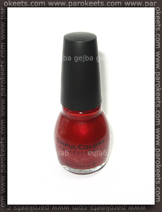 Sinfulcolors - Fire Red
