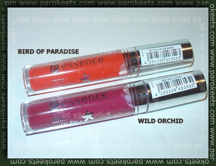 Essence - Down On The Beach glosses
