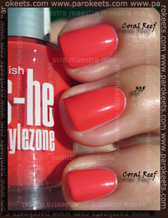Avon - Nailwear Pro - CoralReef vs. She - 305