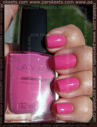 Avon - Nailwear Pro - Viva Pink