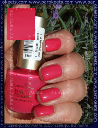 Catrice, 04 Dramatic Pink