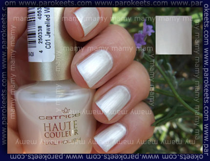 Catrice, 01 Jewelled White