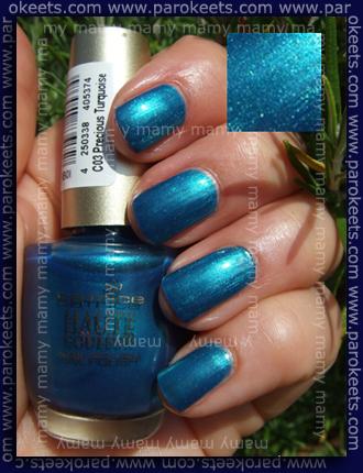 Catrice, 03 Precious Turquoise