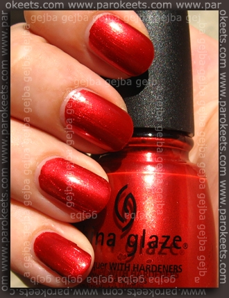 China Glaze - Retro Diva - Drive In