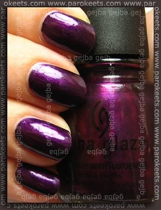 China Glaze Retro Diva - Let's Groove