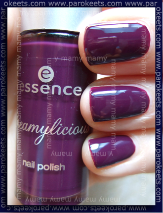 Essence Creamylicious - Wild Berry Sorbet