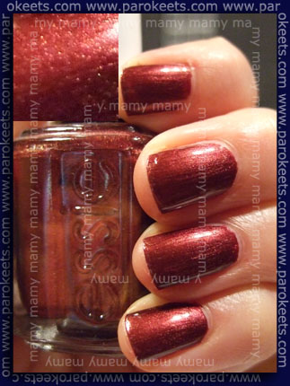 Essie_Wrapped in Rubies l