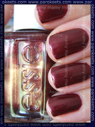 Essie_Wrapped in Rubies ll