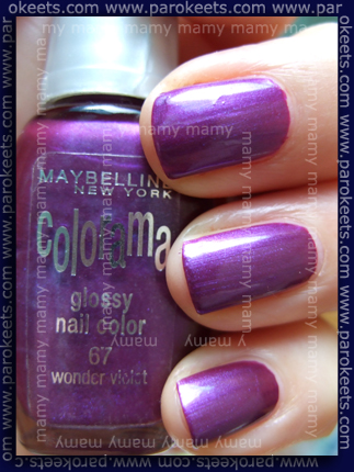 Maybelline_Wonder Violet