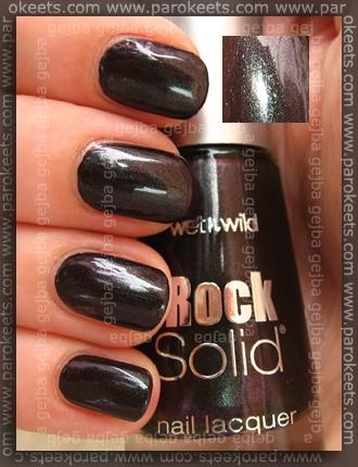 Wet N Wild - Dream Black Metallic