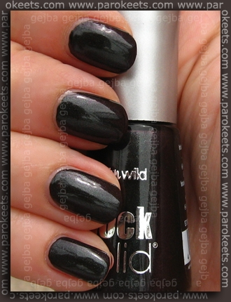 Wet N Wild – Dream Black Metallic