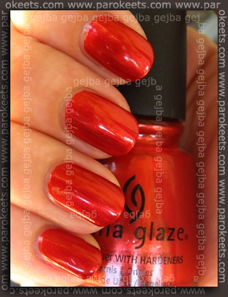 China Glaze – Retro Diva – Drive In