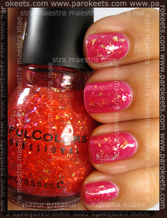 Claire's - B76 - Sinful Colors - Red Ocean #140