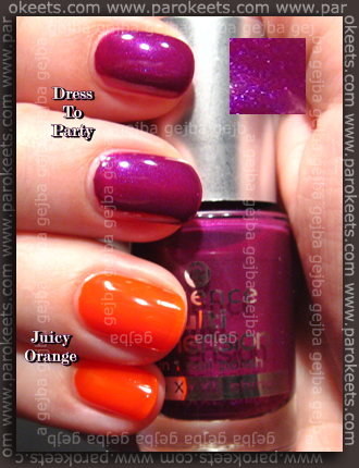 Essence - Dress To Party, Juicy Orange