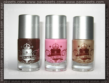 Essence Made With Love polishes