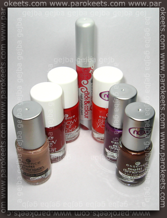 Essence - polishes