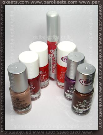 Essence - polishes