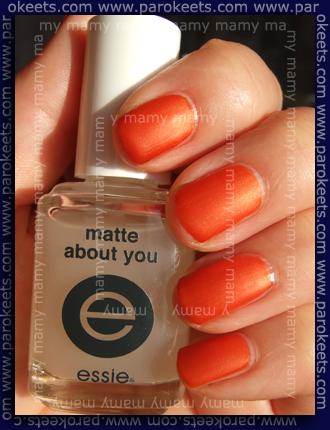 Ciate Paint Pots_ Femme Fatale, Essie_Matte About You