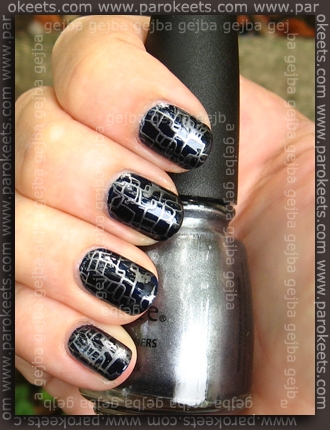 Essie Midnight Cami + China Glaze Awaken + CD H22