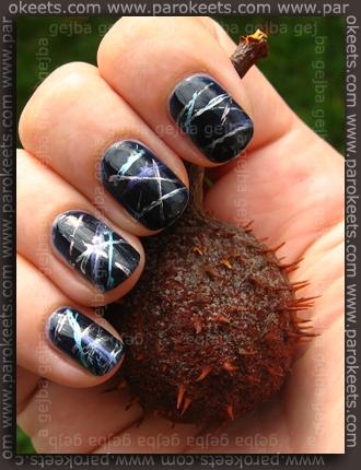 Gabrini 371 - nail art (flossing)