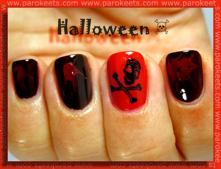 Halloween - manikura