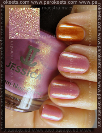 Jessica - Sherbet and OPI - Clubbing Till Sunrise