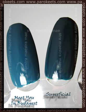 Essence - Meet You In Budapest Vs. Ciate Paint Pots - Superficial