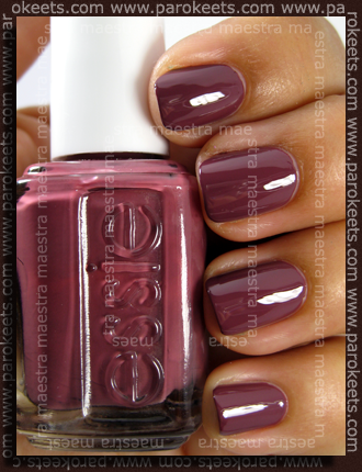 Essie - Cuddle With Color - Fall 2009 - Angora Cardi