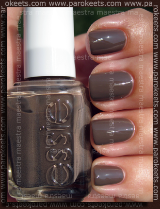 Essie - Cuddle With Color - Fall 2009 - Mink Muffs