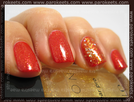 Avon - Ruby Slippers, Golden Dream, CND - VIP Status