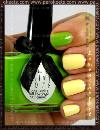 Ciate Paint Pots: Mojito and Lemon Sherbet