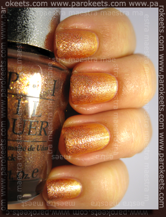 Kiko - 141 in OPI - DS Glow (sponge)