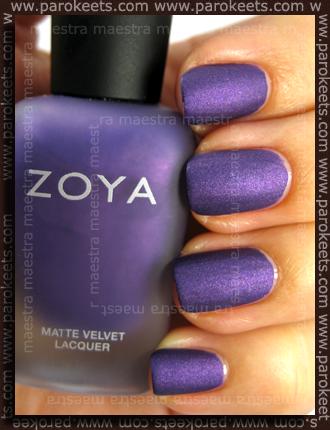 Zoya - Matte Velvet Winter 2009 - Savita