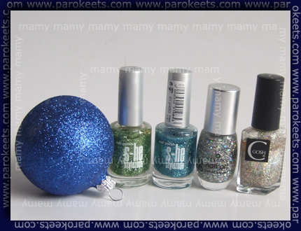 S-he451, S-he450, Essence Shiny Star, Gosh Harlequin