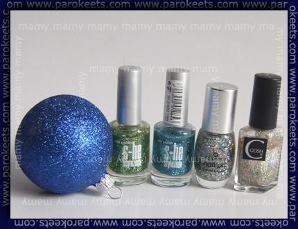 S-he451, S-he450, Essence Shiny Star, Gosh Harlequin