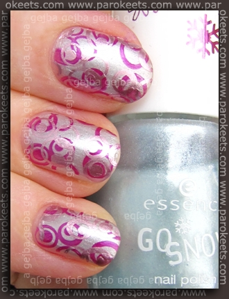 Essence Alpine Snow + p2 Stylish + Avon Polished Pink + Fauxnad H7