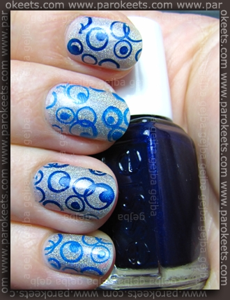 Essence Metal Babe + Essie Midnight Cami + Cantare + 132 + Fauxnad H7