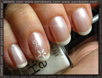 Catrice Jewelled White, Deborah Shine Tech no. 02