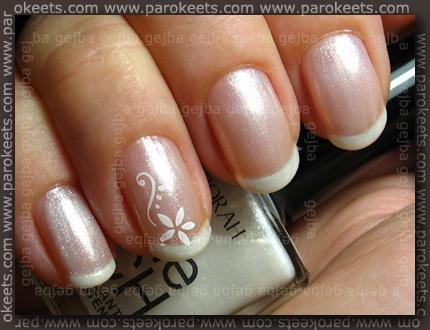Catrice Jewelled White, Deborah Shine Tech no. 02