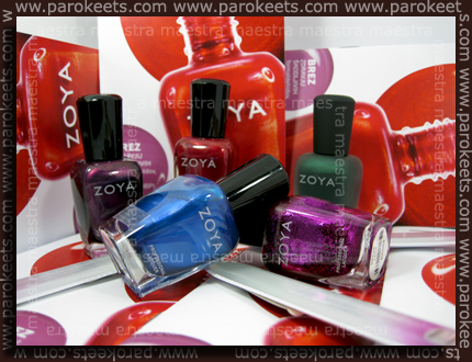 Zoya polishes